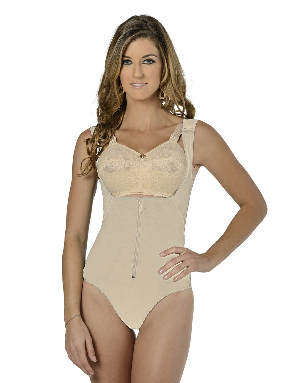 Body Reshaper Short Beige